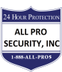 All Pro Security, Inc