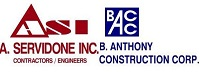 A.Servidone Inc/B.Anthony Construction