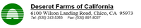 Deseret Farms of California Jobs