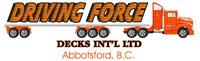 Driving Force Decks Int'l Ltd. Jobs