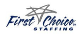 First Choice Staffing Jobs