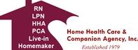 Home Health Care & Companion Agency, Inc. Jobs