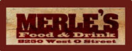 Merle's Food and Drink Jobs