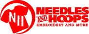 Needles and Hoops Embroidery Jobs