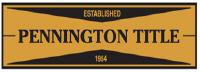 PENNINGTON TITLE Jobs