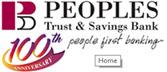 Peoples Trust & Savings Bank 3138775