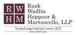 Rusk, Wadlin, Heppner & Martuscello, LLP Jobs