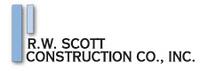 R.W. Scott Construction Co., Inc. Jobs