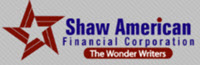 Shaw American Financial Corporation