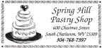 Spring Hill Pastry Shop Jobs