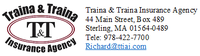Traina & Traina Insurance Agency Inc